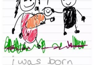 我叫Azka,我畫了爸爸媽媽離婚的故事