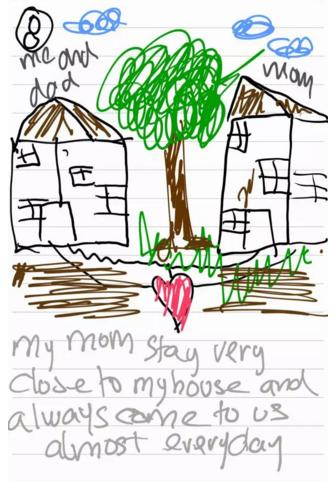 我叫Azka,我画了爸爸妈妈离婚的故事