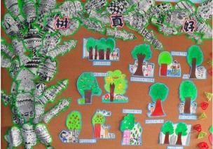 春季主题活动《大树》——树的用途