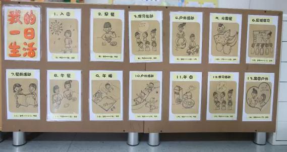 可爱Q萌的小贴士,让幼儿园更有爱