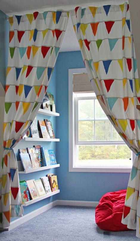 假期里孩子闹翻了天?这样的家庭阅读区,让熊孩子变身安静美男子