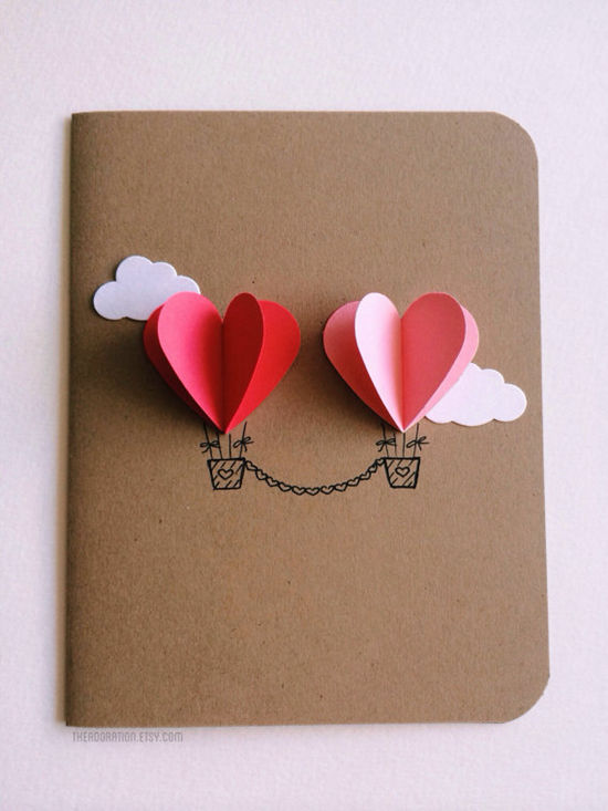 Couple-Heart-Hot-Air-Balloon-Card-25-Easy-DIY-Valentines-Day-Cards-NoBiggie.net_