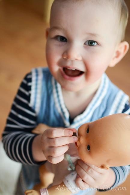 【发散思维】小男孩能玩洋娃娃吗?