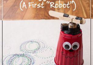 【电】大班电力实验,我们也能做机器人!!