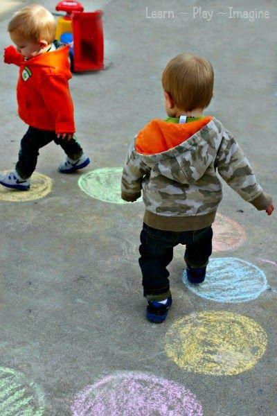 Toddler Color Hop - Gross Motor Color Recogntion Game (8)