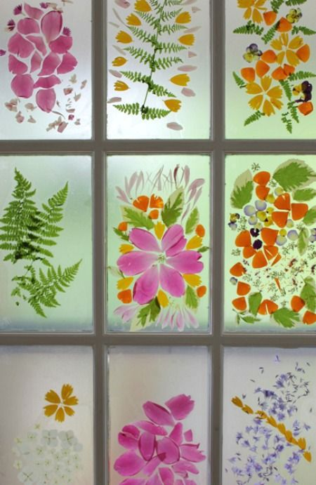 Flower-Petal-Stained-Glass