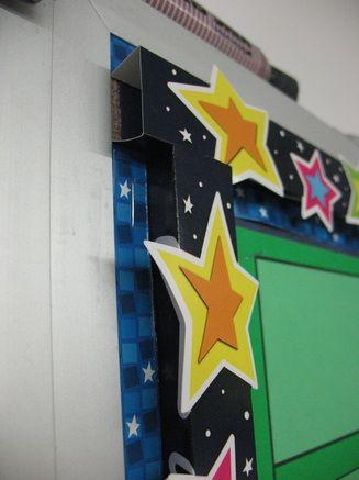 边框 | 新学期好不容易做的主题墙,边框当然也要艳压群芳!