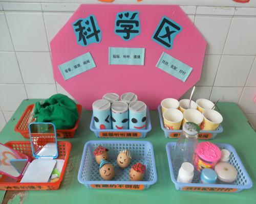 實用帖 幼兒園中班區域設置與材料提供