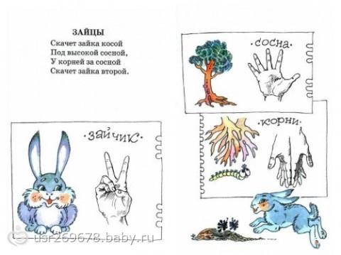 手指操 | 来自俄罗斯的全套情境手指操,实用,好玩儿!
