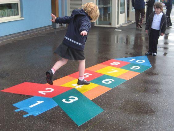不要再忽视幼儿园的地面标志,它是一个巨大的宝藏