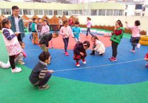 幼儿园传统室内外体育游戏集