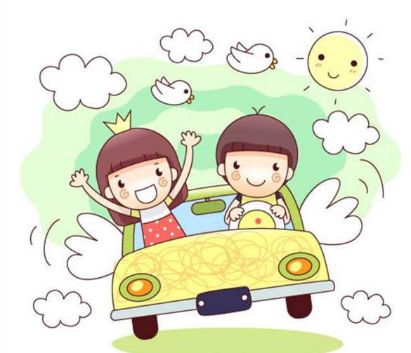 交通工具—有趣的小汽车