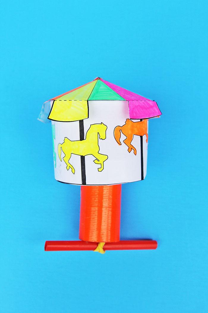 DIY-Toy-Kinetic-Carousel-4