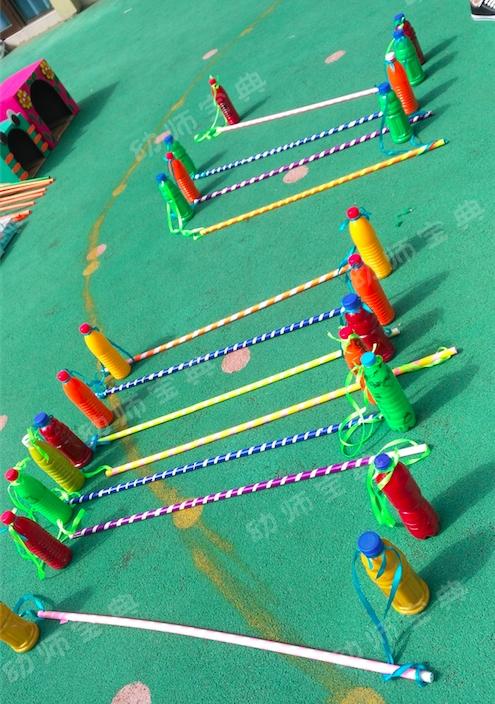 自制体育器械   最常见的材料,打造适合所有孩子的自制玩具