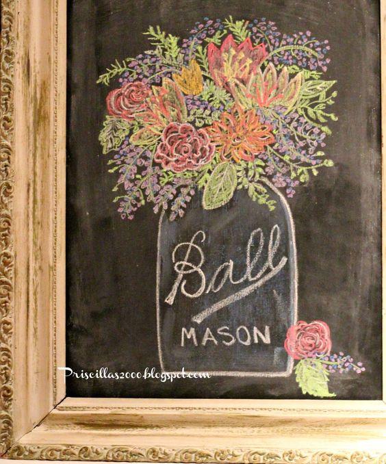 粉笔画 超全粉笔画素材,让你学会在黑板上变魔术!-幼师宝典官网