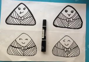 美工课必备 | 创意粽子画,让你体验一个不一样的端午节