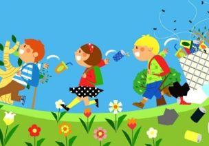 环保主题 | 中班语言教案《垃圾找家》