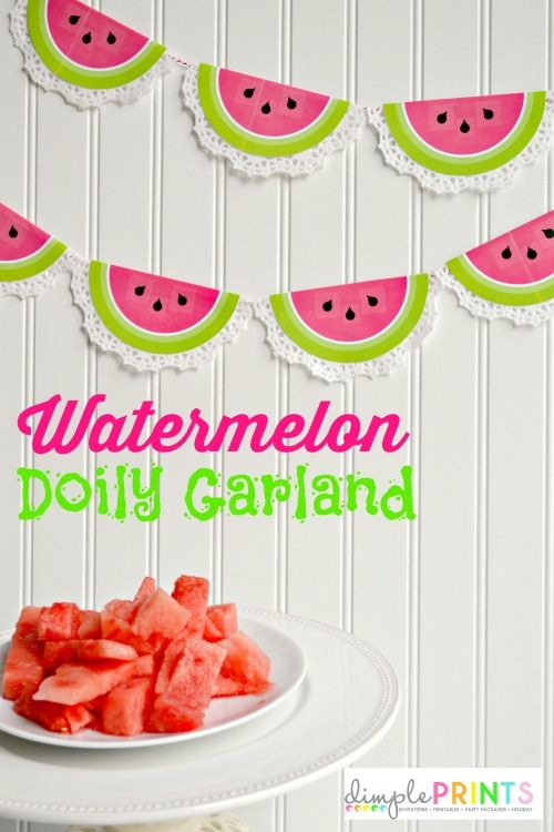 DimplePrints-Watermelon-Doily-Garland-Free-Printable