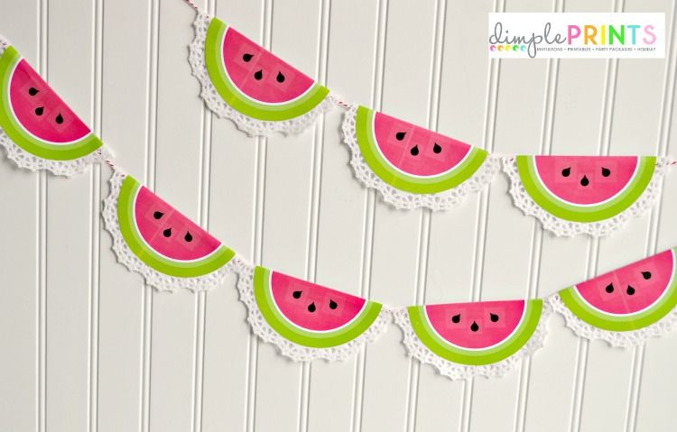 Doiley-Watermelon-Garland-from-DimplePrints