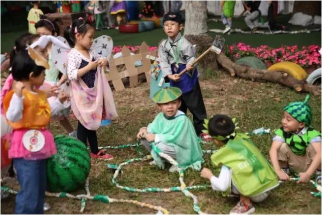 幼儿园一日活动指引,生活、体育、游戏、学习一个都不能少