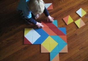 建构区玩教具的制作与指导