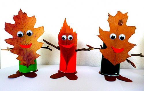 树叶手工 | 一叶知秋,不要只会粘贴画,更多叶子手工等你开发