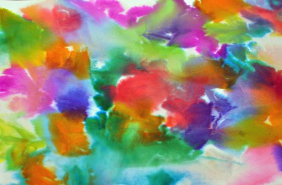 湿水彩|变幻的色彩,流动的情绪,感受奥妙无穷的华德福湿水彩!