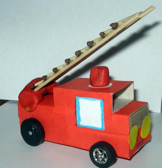 手工车   汽车火车消防车,货车客车和谐号,手工车大全来啦