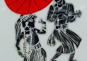 中國風環創 | 剪影青花齊上陣,民族古風韻味足