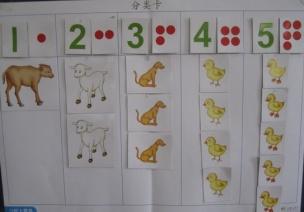 创造性课程 | 小班数学教案及反思——点数5以内的数