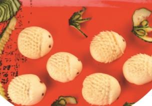 幼儿园秋季带量食谱(星期一)