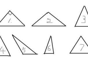 創造性課程 | 中班數學教案及反思——三角形守恒