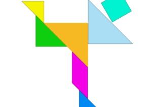 创造性课程 | 中班数学教案及反思——图形变变变