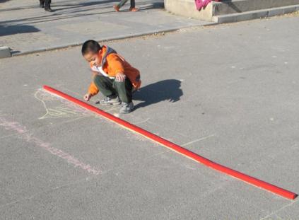 创造性课程 | 大班数学教案及反思——长度测量