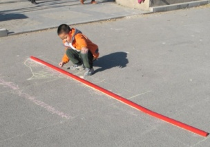 創造性課程 | 大班數學教案及反思——長度測量