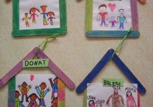 """""""我和我的家庭""""系列环创和手工,把家人的温暖带到幼儿园"""