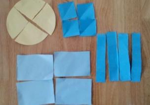 創造性課程 | 大班數學教案及反思——圖形等分