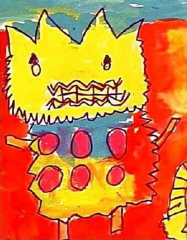 有思想、有深度的幼儿美术作品,原来是这样教的