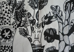 幼兒美術 | 告別越畫越亂,設色、造型和構圖很重要(一)