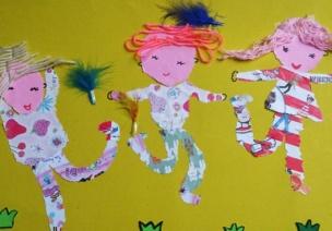 幼兒美術 | 告別越畫越亂,設色、造型和構圖很重要(二)