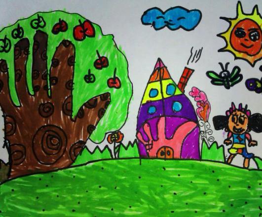 小班幼儿美术欣赏_大班美术活动——我的小手变变变-幼师宝典官网