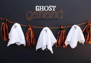 萬圣節幽靈吊飾、手工 | 這個幽靈不太冷,甚至它還有點萌!