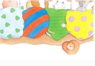 绘本延伸课程案例 | 中班健康、美术教案《香香的被子》
