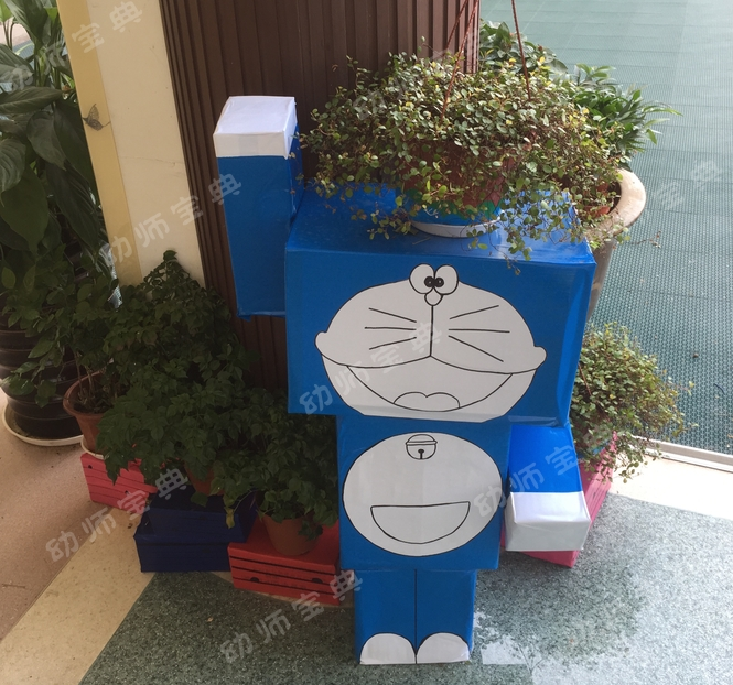 📦 让一线的牛人幼师用实际行动告诉你,纸箱的9种创意用法!