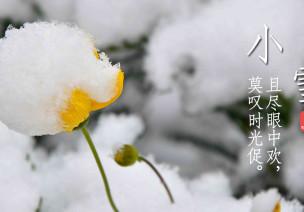 二十四节气专题 | 小雪(第20节)