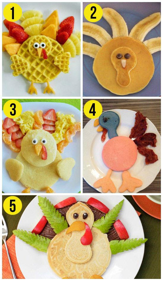 Turkey-Pancakes-for-Thanksgiving