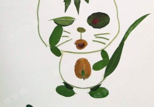小班亲子美术活动教案:叶子粘贴画