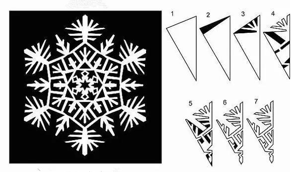 手工 | 冬天到了,你會剪雪花嗎?23種雪花剪紙任你挑選~