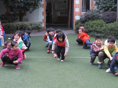 迅速带动气氛的15个幼儿集体游戏