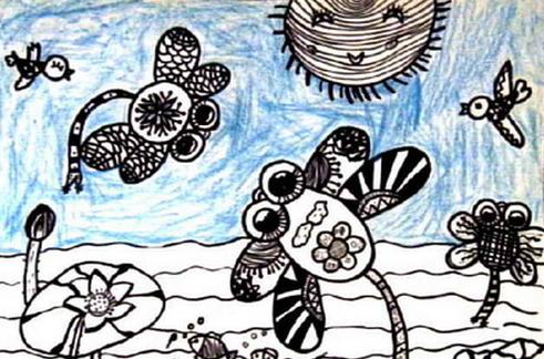 实验班精华总结 | 从0开始,完整成套的幼儿线描画教学方法
